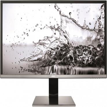 """AOC 32"""" VA 4ms 4K 3840x2160 10bit Slim Monitor w/ HAS - DP/ HDMI2.0/ VGA Speaker USB3.0 Hub/ Charger"""
