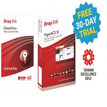 Draytek Web Content Filtering - 1 Year For Vigor2930/ 2950/ 2955/ 2960/ 300B/ 3300/ Ippbx3510/ 3900/ 5300/ 5510 Series Dvwcfs