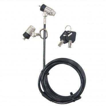 Targus DEFCON® Dual P2MKL Cable Lock ASP57MKAUX