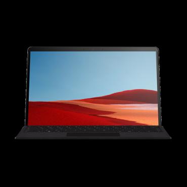 "Microsoft Surface Pro X - Black Microsoft Sq1 8Gb Ram 128Gb Ssd 13"" Display Wifi Bt 4G Lte Windows 10 Home 1 Year Warranty - Retail Mjx-00006"
