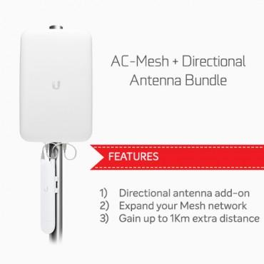 Ubiquiti Unifi Ac Mesh & Directional Antenna Bundle Nhu-Ac-M-D-Bun