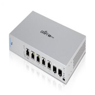 Ubiquiti 10 Gigabit 6-Port 802.3Bt Unifi Switch Us-Xg-6Poe