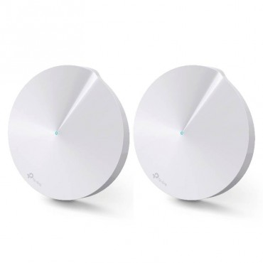 TP-Link Deco M5 (2-pack) Whole-Home Mesh Wi-Fi 1300Mbps Router Built-In Antivirus Security Coverage