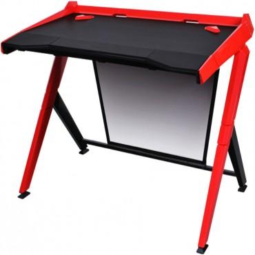 Dxracer 1000 Series Gaming Desk - Black & Red Gd/1000/Nr