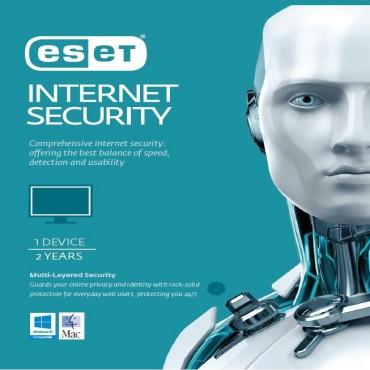 Eset Internet Security 1 Device 2 Years Retail Download Card Av-Es-Esisr2Y