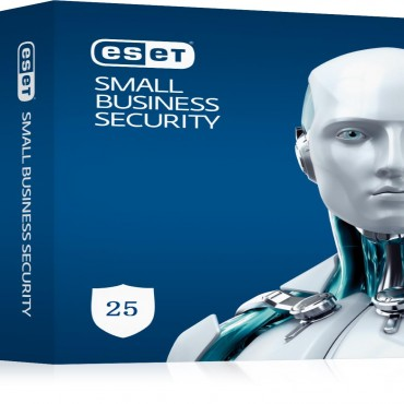 Eset Small Business Pack 25-25 Endpoints 25 Android Devices 3 File Servers 30 Mailboxes 1Y Esd Keys Only Av-Essbp25-1Y