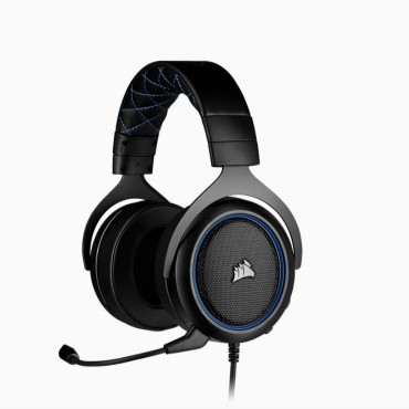 Corsair Hs50 Pro Blue Stereo Gaming Headset Ca-9011217-Ap