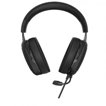 Corsair Hs60 Pro Carbon Stereo 7.1 Surround Memory Foam Discord Certified Pc And Console Compatible Gaming Headset Ca-9011213-Ap