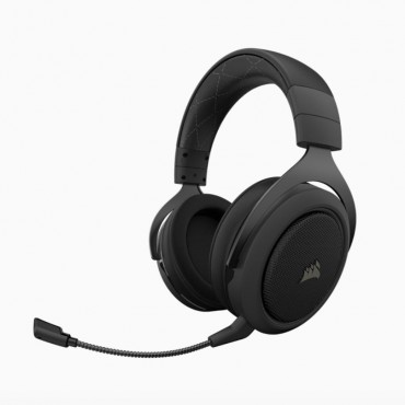 Corsair Hs70 Pro Wireless Gaming Headset Carbon. 7.1 Sound Up To 16Hrs Of Playback. Pc And Ps4 Compatible. 2 Years Warranty Ca-9011211-Ap