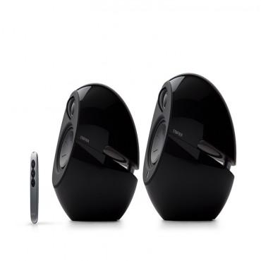 Edifier E25hd Luna Hd Bluetooth Speakers Black - Bt/ 3.5mm/ Optical Dsp 74w E25hd-bk