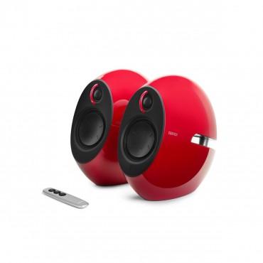 Edifier E25hd Luna Hd Bluetooth Speakers Red - Bt/ 3.5mm/ Optical Dsp 74w E25hd-rd