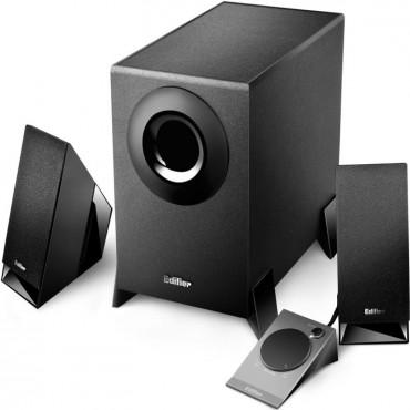 Edifier M1360 2.1 Multimedia Speakers - 3.5Mm/ Rca Remote Control M1360