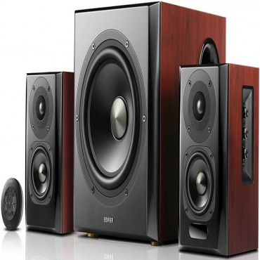 Edifier S350Db 2.1 Bluetooth Multimedia Speakers W/ Subwoofer - 3.5Mm/ Optical/ Bt Remote Control