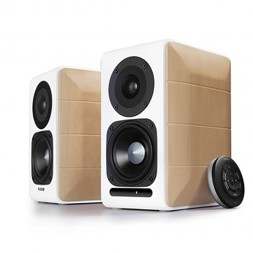 Edifier S880db Hi-res Audio Certified Powered Bookshelf Bluetooth Speakers White - Bt/ 3.5mm/