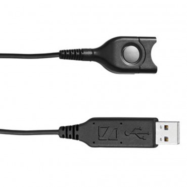 Sennheiser Headset Connection Cable: Usb - Easydisconnect (Sound Card Integrated In Usb Plug). 506035