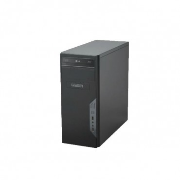 Leader Visionary 3210 Desktop Intel I3-9100F 4Gb 240Gb Ssd 2Gb Amd R5 Window 10 Home 1 Year Onsite Warranty Dvd 500W Psu Black Mid Tower Sv321