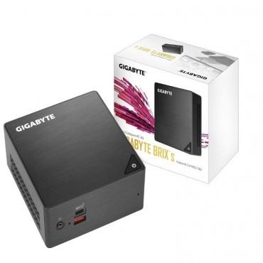 Gigabyte Brix Nuc Ultra Compact Barebone Mini Pc I3-8130 0.63L M.2 Ssd 2Xddr4 Sodimm Hdmi Mdp 4K Wifi Bt 2Xusb3.1 2Xusb3.0 Lan Vesa Gb-Bri3H-8130