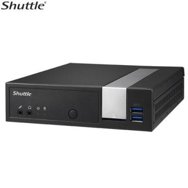 Shuttle DX30 Slim Mini PC 1.3L - Fanless 4K 3xDisplays Celeron J3355 2xDDR3L SODIMM 2.5' M.2 HDMI