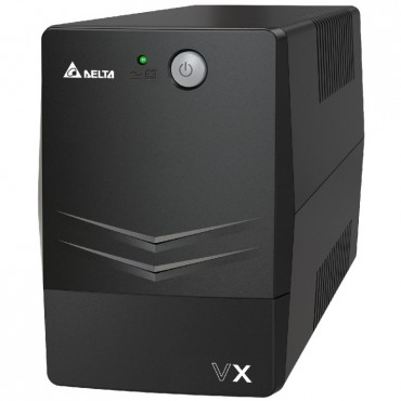 Delta Vx Series Line Interactive 600Va/ 360W Ups (Tower) 2 Au Ports Upa601V2100Bb