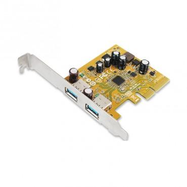 Sunix Usb2312 Sunix Usb3.1 Enhanced Superspeed Dual Ports Pci Express Host Card With Usb-A Usb2312