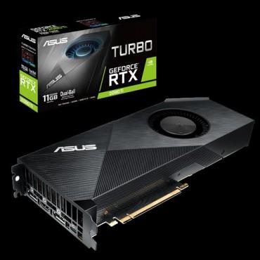 Asus Nvidia Turbo-Rtx2080Ti-11G Geforce Rtx2080Ti 11Gb Gddr6 Graphics Card Turbo-Rtx2080Ti-11G