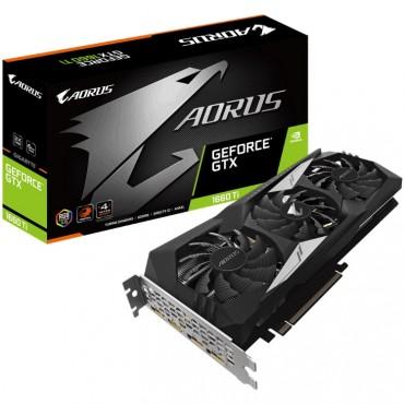 Gigabyte Nvidia Geforce Rtx 1660 Ti Aorus 6Gb Pcie Video Card 7680X4320@60Hz 3Xdp Hdmi 4Xdisplays