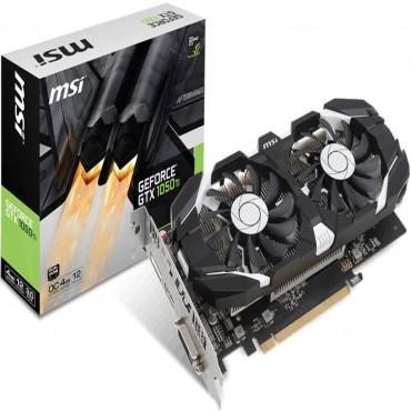 Msi Nvidia Gtx 1050 Ti 4gt Oc V1 4gb Video Card - Gddr5 Dp/ Hdmi/ Dvi 1341/ 1455mhz Gtx 1050 Ti