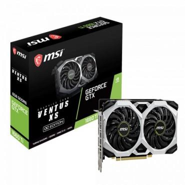 Msi Nvidia Geforce Gtx 1660 Ti Ventus Xs 6G Oc Gddr6 7680 X4320 3Xdp1.4 1Xhdmi2.0B 1830 Mhz Torx