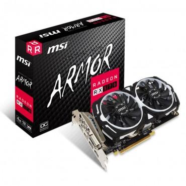 Msi Nvidia Geforce Rx 570 4Gb Gddr5 4K 7680X4320@60Hz Pci-E 3.0 3Xdp1.4 1Xhdmi2.0 1Xusb-C 1770 Mhz