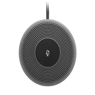 Logitech Expension Mic For Meetup Conferencecam Conferencing Web Camera Add-on Microphone For