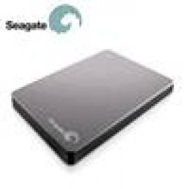 "Seagate Backup Plus 1tb Silver 2.5"" Usb3.0 Slim Portable Stdr1000301"