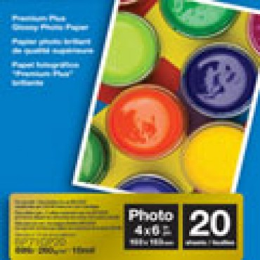 Brother  Glossy Paper 6x4 inch (20 sheets/ Pack) - BP-71GP20