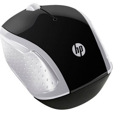 HP 200 Pk Silver Wireless Mouse 2Hu84Aa