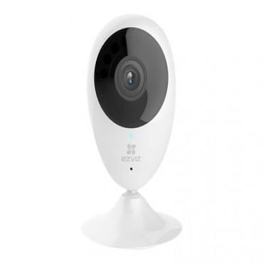 Ezviz C2C 1Mp Smart Wireless Camera Hd 2-Way Audio Ir Micro Sd Ac Power 2Yr Cs-Cv206-C0-1A1Wfr