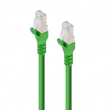 Alogic 0.5M Green 10G Shielded Cat6A Lszh Network Cable C6A-0.5-Green-Sh