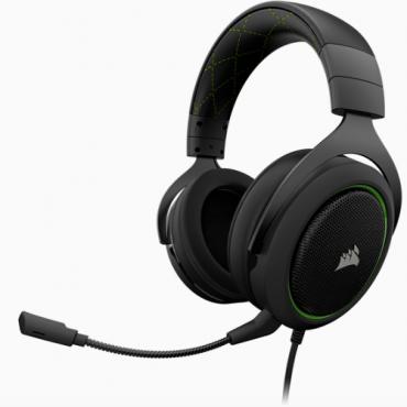 Corsair Hs50 Stereo Gaming Headset Green Ca-9011171-Ap