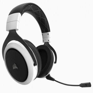 Corsair Hs70 Wireless Gaming Headset White Ca-9011177-Ap