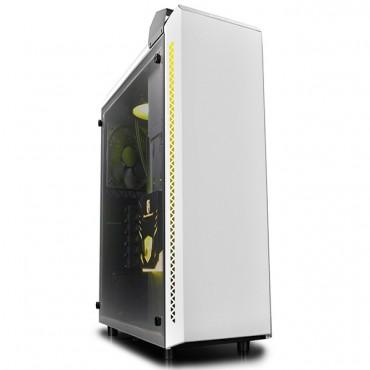 Deepcool Baronkase Case Liquid Cooling System White Colour DP-MATX-BNKSWH-LQD