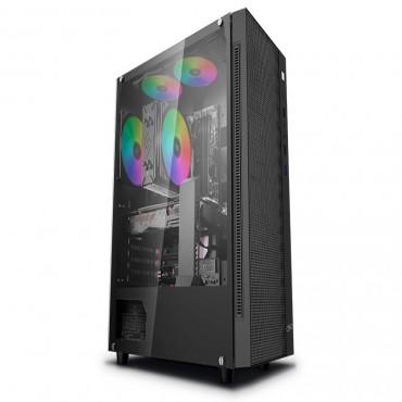 Deepcool Matrexx 55 Mesh Atx Minimalist Tempered Glass Case