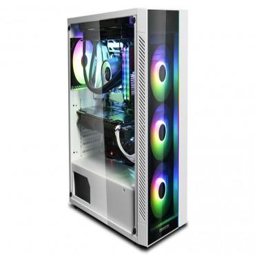 Deepcool Matrexx 55 V3 Add-Rgb Wh Minimalistic Tempered Glass Case