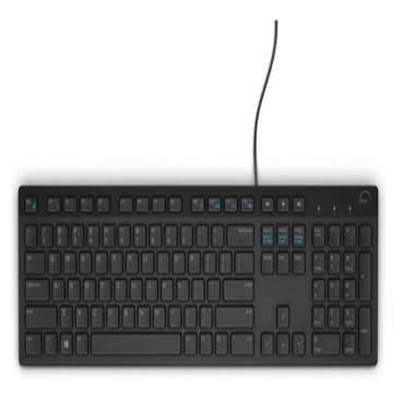 Dell Multimedia Keyboard - KB216 - Black (580-Ahhg)