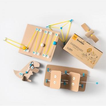 Strawbees Cardboard School Kit Sb-059