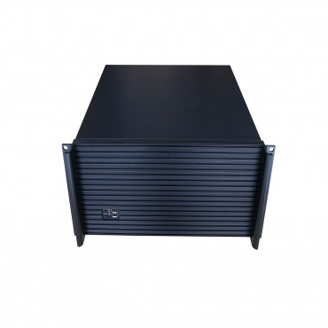 "TGC Rack Mountable Server Chassis 4U 390mm Depth, 5x Int 3.5"" Bays, 7x Full Height PCIE Slots, ATX PSU/MB Tgc-43901-Usb3.0"