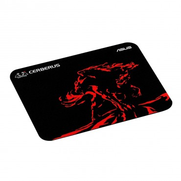 Asus Cerberus Mat Mini Gaming Mouse Pad - Red 90yh01c3-bdua00
