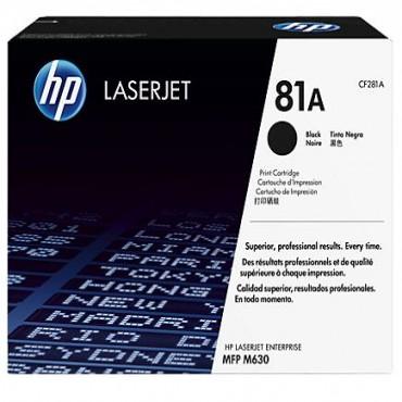 HP 81A BLACK LASERJET TONER CARTRIDGE CF281A