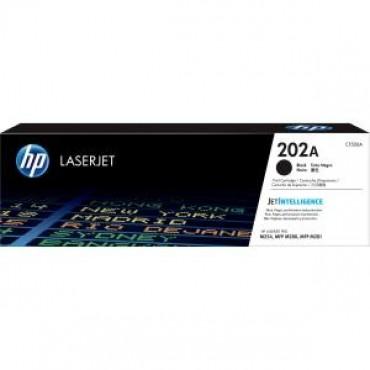 HP 202A Original Black LaserJet Toner Cartridge CF500A