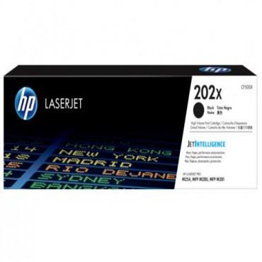 HP 202X Black LaserJet Toner Cartridge CF500X