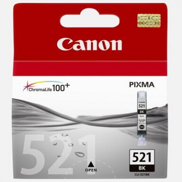 Canon BLACK INK CARTRIDGE FOR MP540/ 620/ 630/ 980, IP3600/ 4600 CLI-521BK