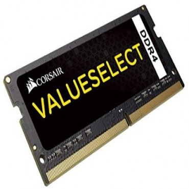 Corsair SINGLE CHANNEL SO-Dimm: 8GB DDR4 2133MHz 15-15-15-36 260-pin CMSO8GX4M1A2133C15