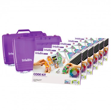 Littlebits Code Kit Education Class Pack - 18 Students Lb-670-0058